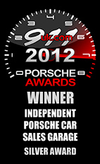 2012 Porsche Independent Car Sales Garage - Silver Award