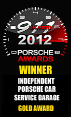 2012 Porsche Independent Car Service Garage - Gold Award