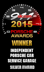 2015 Porsche Independent Car Service Garage - Silver Award