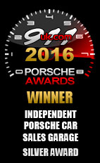 2016 Porsche Independent Car Sales Garage - Silver Award