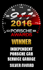 2016 Porsche Independent Car Service Garage - Silver Award