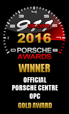 2016 Official Porsche Centre (OPC) - Gold Award