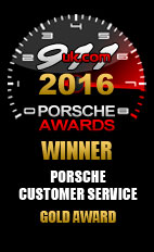 2016 911uk Porsche Customer Service Gold Award (1)